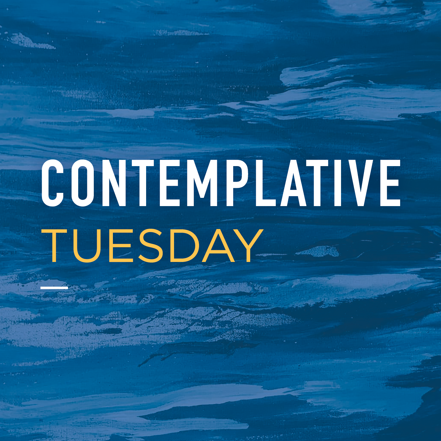 Contemplative Tuesday cover